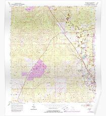 USGS TOPO Map Florida FL Holder 346646 1954 24000 Poster