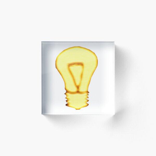 Golden Idea Acrylic Block