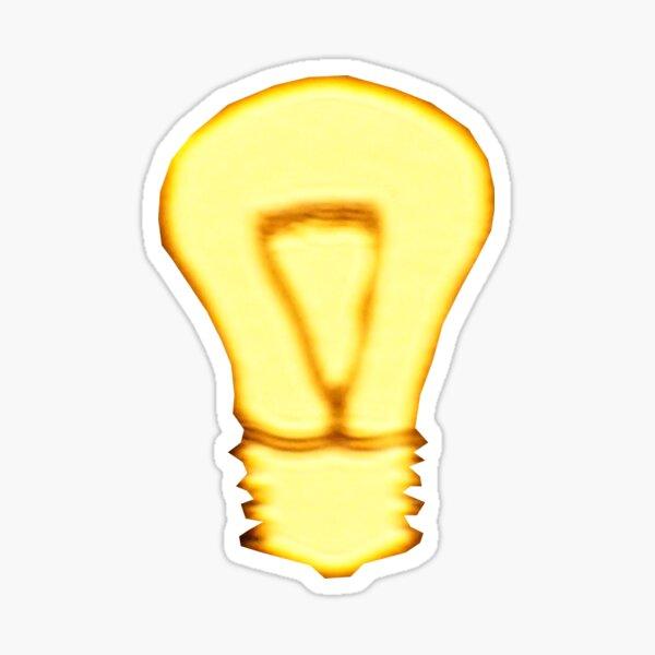 Golden Idea Sticker