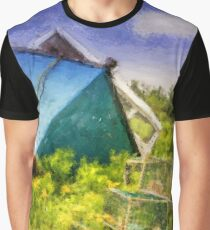Abandoned Fishing Boat in Feltzen South Graphic T-Shirt