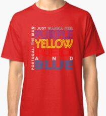 Purple Yellow Red and Blue (Portugal. The Man) Classic T-Shirt