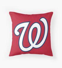 Washington Nationals Throw Pillow