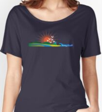 Sunny Coast, QLD Women's Relaxed Fit T-Shirt