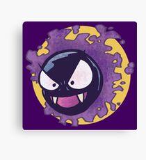 Gastly Pokemon Canvas Print
