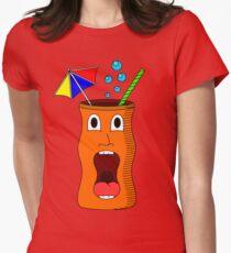 tiki glas / vaso tiki Womens Fitted T-Shirt