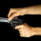 Think Before You Shoot by Nando MacHado