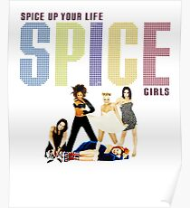 Spice girls spice up your life Poster