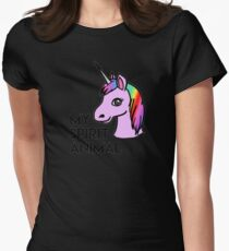 My Spirit Animal Womens Fitted T-Shirt