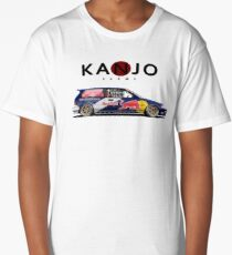 honda civic ef hatchback kanjo style Long T-Shirt