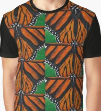 Monarch Butterfly   Endangered Faces Graphic T-Shirt