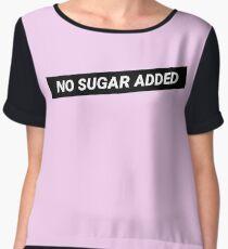 No Sugar Added Chiffon Top