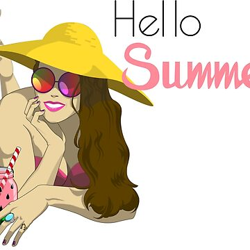 Hello Summer by Inkwelldesign