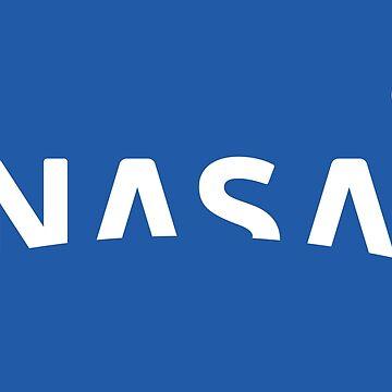 Nuevo logotipo de la NASA 2018 (azul) de Doge21