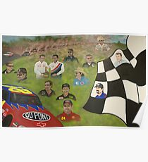 Dust to Glory: The Martinsville Speedway Poster