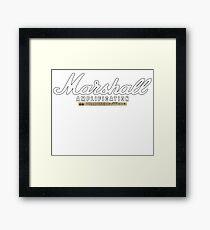Marshall Amp JCM 2000 Framed Print
