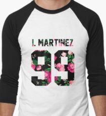 Ivan Martinez - Colorful Flowers Men's Baseball ¾ T-Shirt