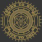 D20 Badge by artlahdesigns