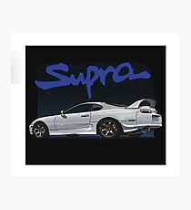 Supra twin turbo  Photographic Print