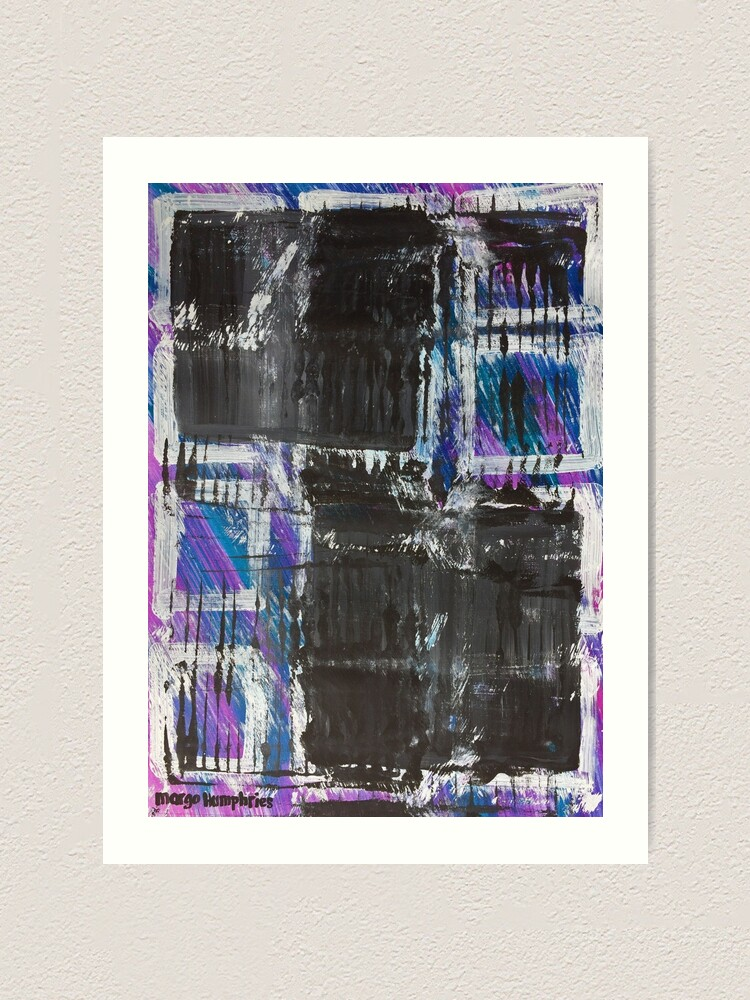 Alternate view of The Grid by Margo Humphries Art Print