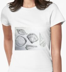 Sea Shells 4 by Margo Humphries Women's Fitted T-Shirt