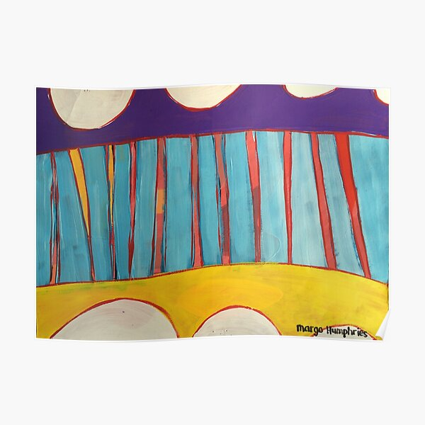 Bunting by Margo Humphries Poster