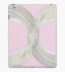 Infinity - White Ribbon on Ballet Slipper Pink iPad Case/Skin