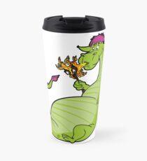 Elliot the Fire Breathing Dragon Travel Mug