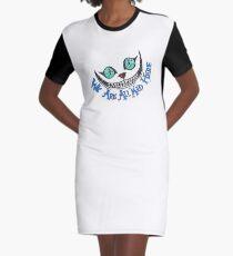 Alice Cheshire Cat Graphic T-Shirt Dress