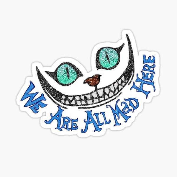 Alice Cheshire Cat Sticker