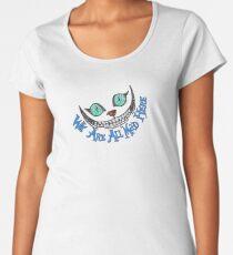 Alice Cheshire Cat Women's Premium T-Shirt