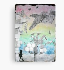 Night Stalkers at Dusk Canvas Print