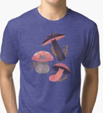Meowshrooms Tri-blend T-Shirt
