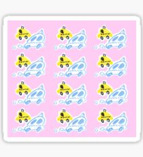 cute taxi Sticker