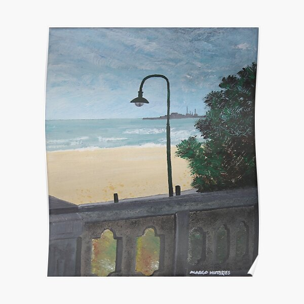 St Kilda Beach Poster