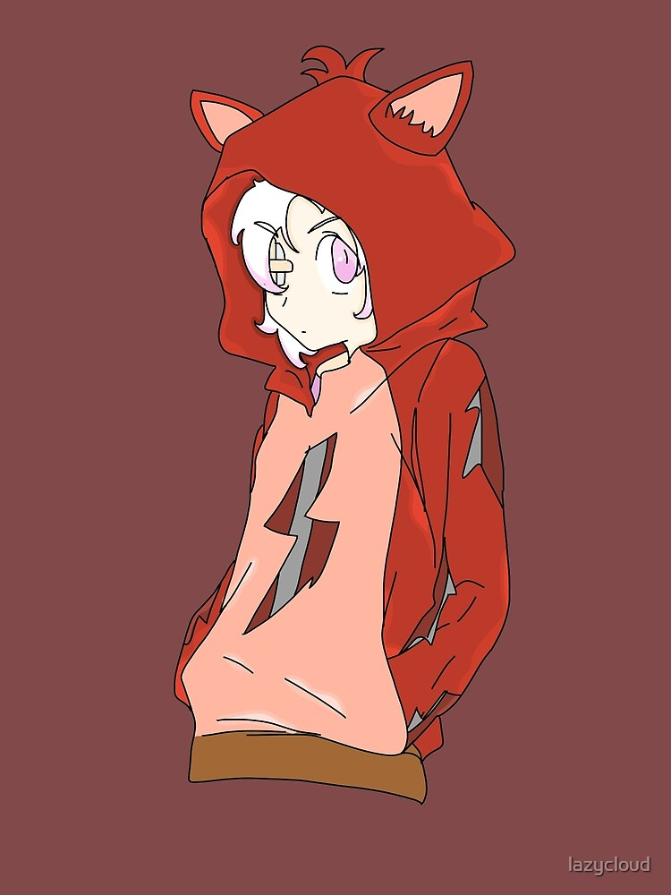 Mangle In Foxy Hoodie by lazycloud
