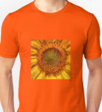 Sunflower and Seeds In Van Gogh Style Unisex T-Shirt