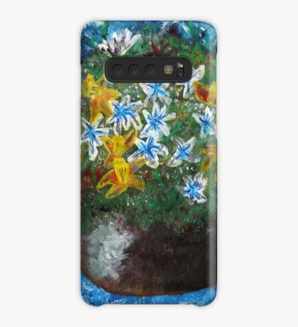 Flowers in Pot Case/Skin for Samsung Galaxy