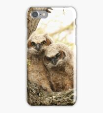 Rest your head on my shoulder iPhone Case/Skin