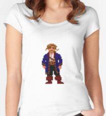 Guybrush Threepwood Women's Fitted Scoop T-Shirt