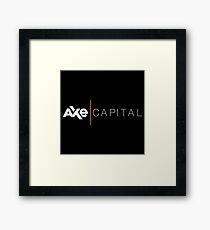 Axe Capital Framed Print