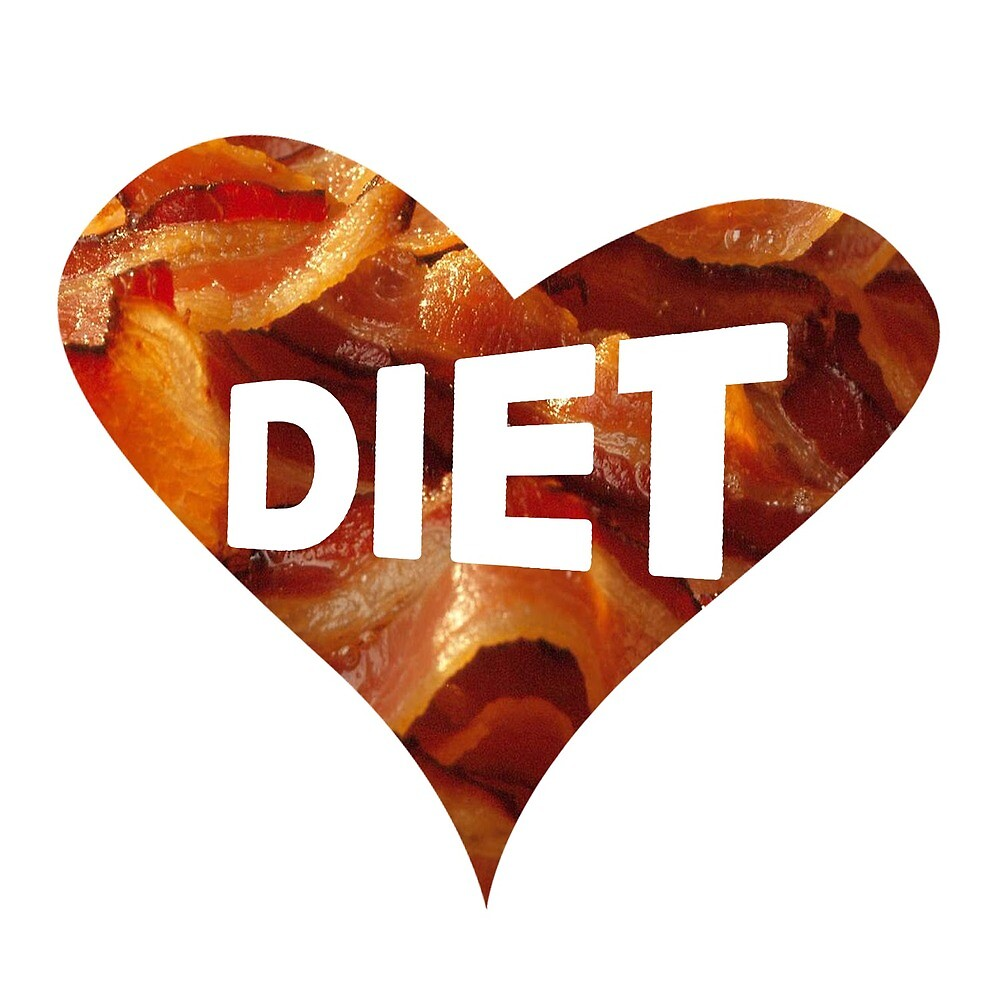 Bacon diet  by maxcombine