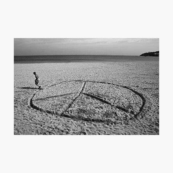 Peace Run Off Photographic Print