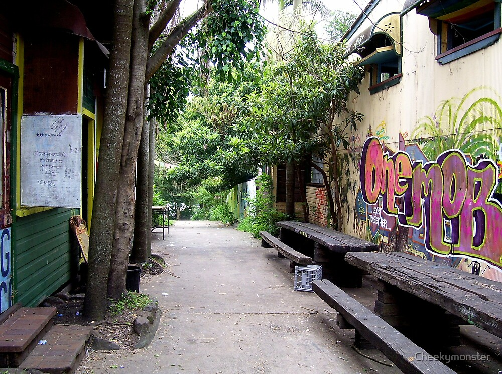 Nimbin Alleyway by Cheekymonster