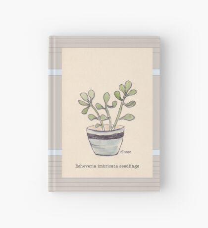 Echeveria seedlings Hardcover Journal