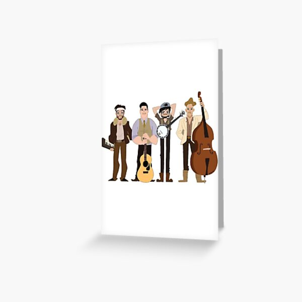 Mumford and sons Greeting Card