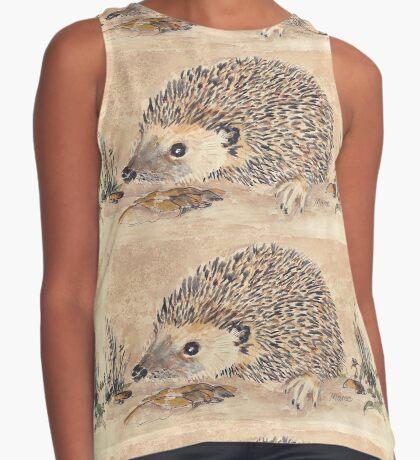 Hedgie, the African Hedgehog Sleeveless Top