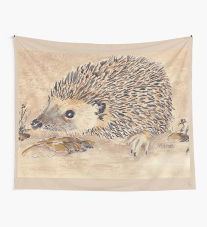Hedgie, the African Hedgehog Wall Tapestry