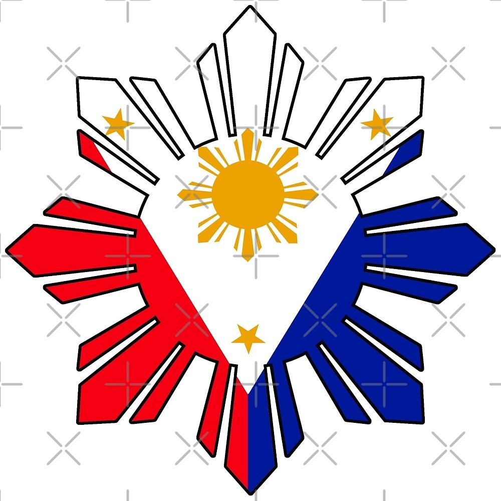 Philippine Sun Flag by kayve