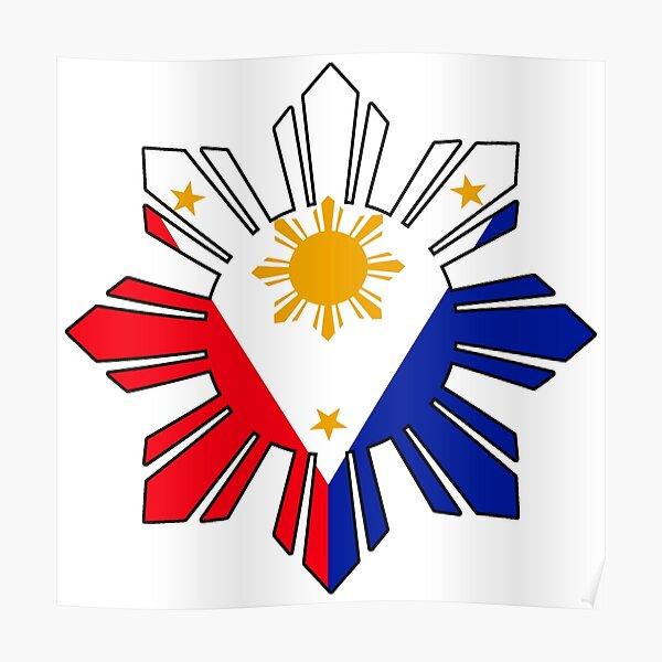 Philippine Sun Flag Poster