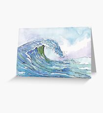 The Ocean's pulse Greeting Card